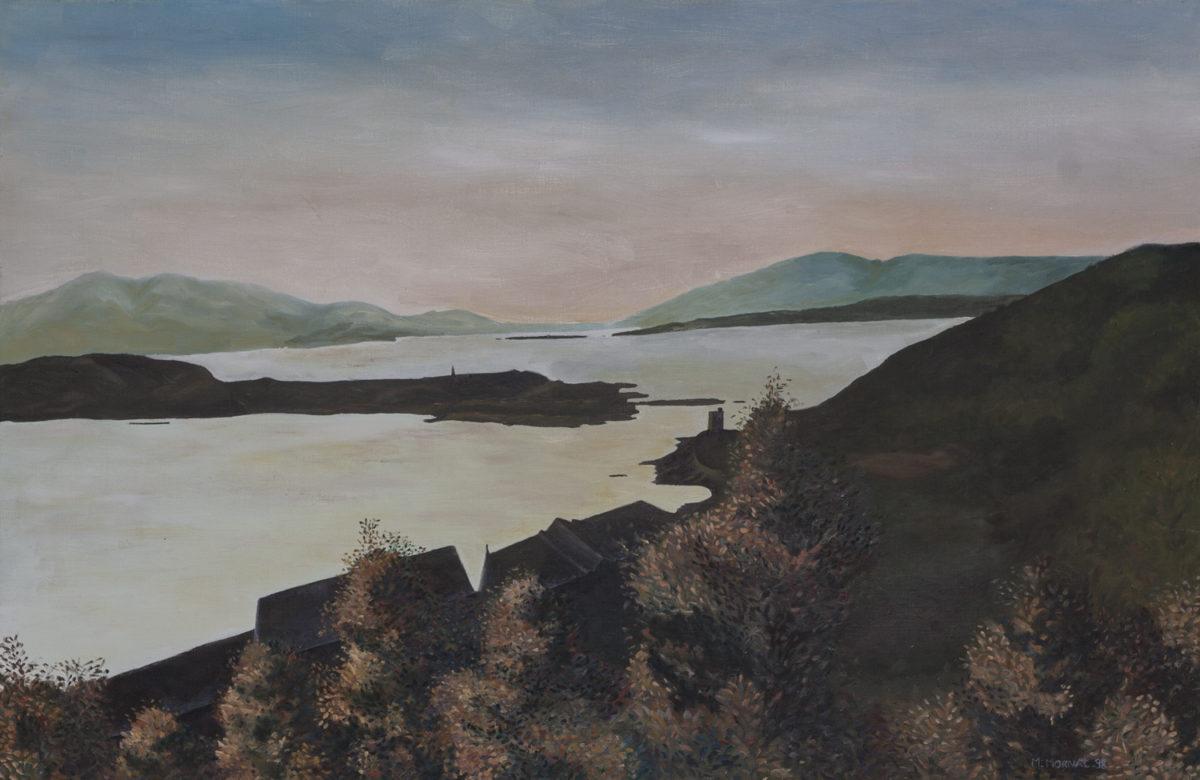 Peinture du lac Windermere à l'automne